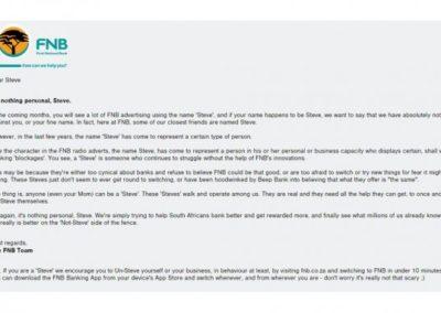 FNB_Steve scam