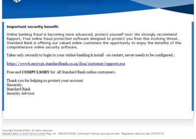 standard-bank-access-restricted-scam
